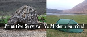 Primitive Survival Vs Modern Survival
