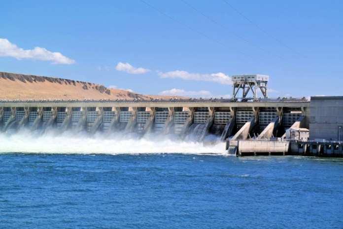 hydroelectric energy.