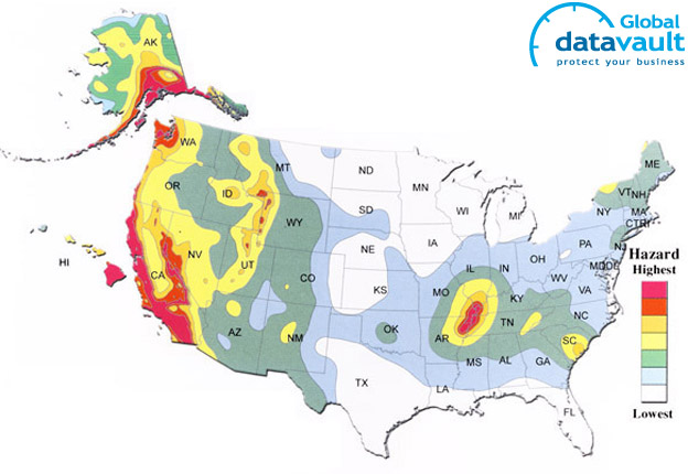 Natural Disaster Threat Maps USA Target List - Us natural disaster map