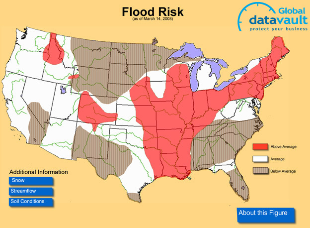 Natural Disaster Threat Maps USA Target List - Hurricane danger map of the us
