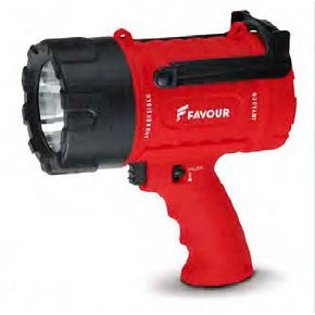 Torcia Riflettore Favour Light S0343  820 Lm rossa  Favour Light  Spotlight  Torce Favour