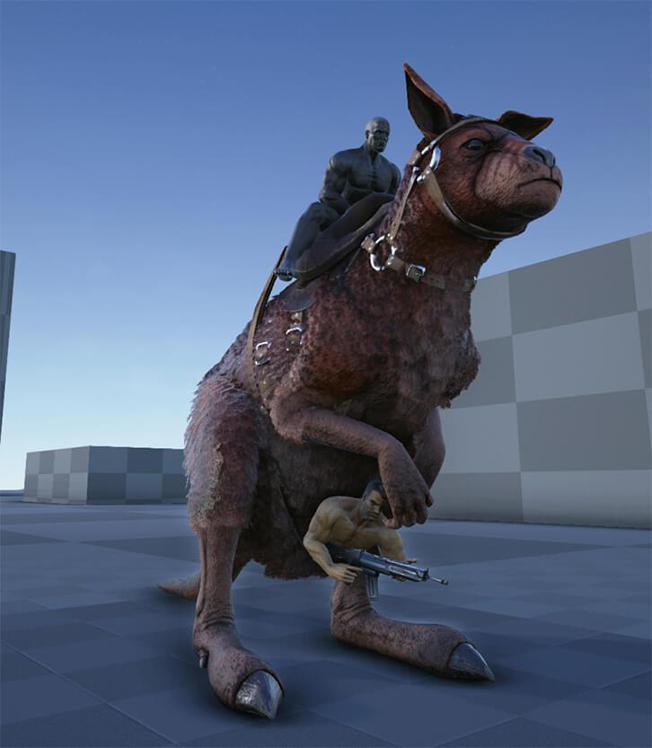 Procoptodon Ark