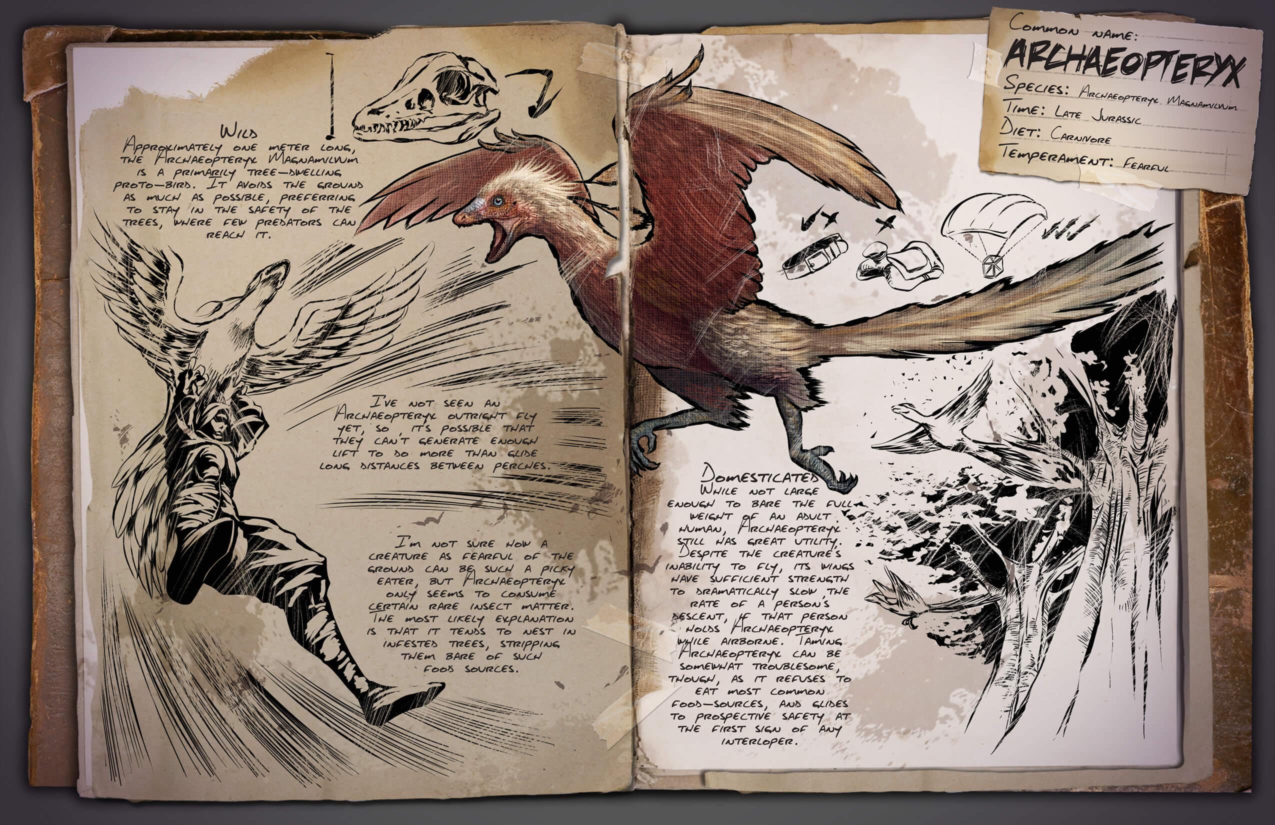 Archaeopteryx Survive ARK