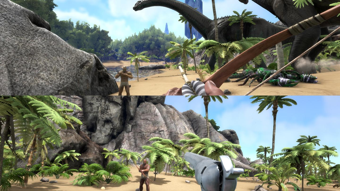 ARK Split screen coming to Xbox One in next update - Survive ARK