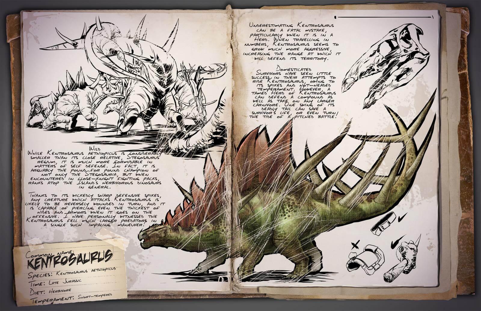 Kentrosaurus - Survive ARK