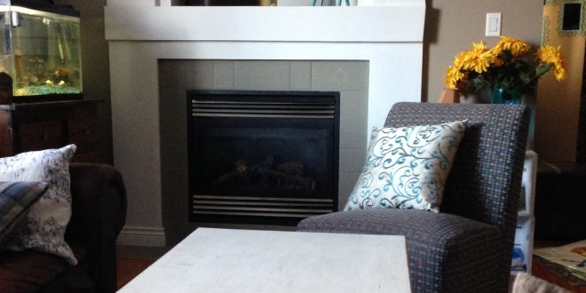 Living Room redo with annie sloan chalk paint