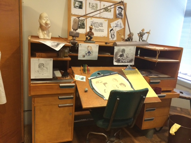 Animator Desk Walt Disney Archives