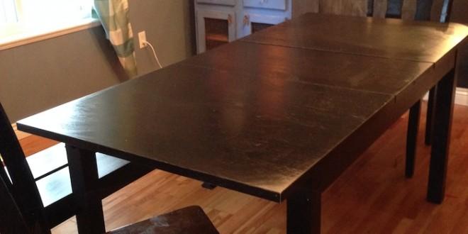 How I Forced An Ikea Table To Turn Into A DIY FarmHouse