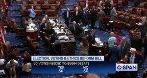 BREAKING: Senate Republicans Block Democrats' 'Voting Rights' Bill – Kamala Harris Vows to Keep Fighting