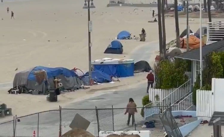 Venice Beach: A Crime-Riddled, Drug-Infested Tent City Sh*t Hole Under Democrat Leadership (VIDEO)