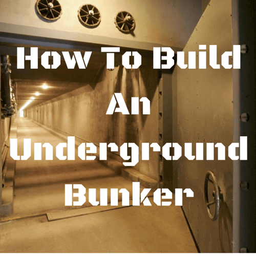 Easy Underground Shelter : How to build an underground bunker surviveuk