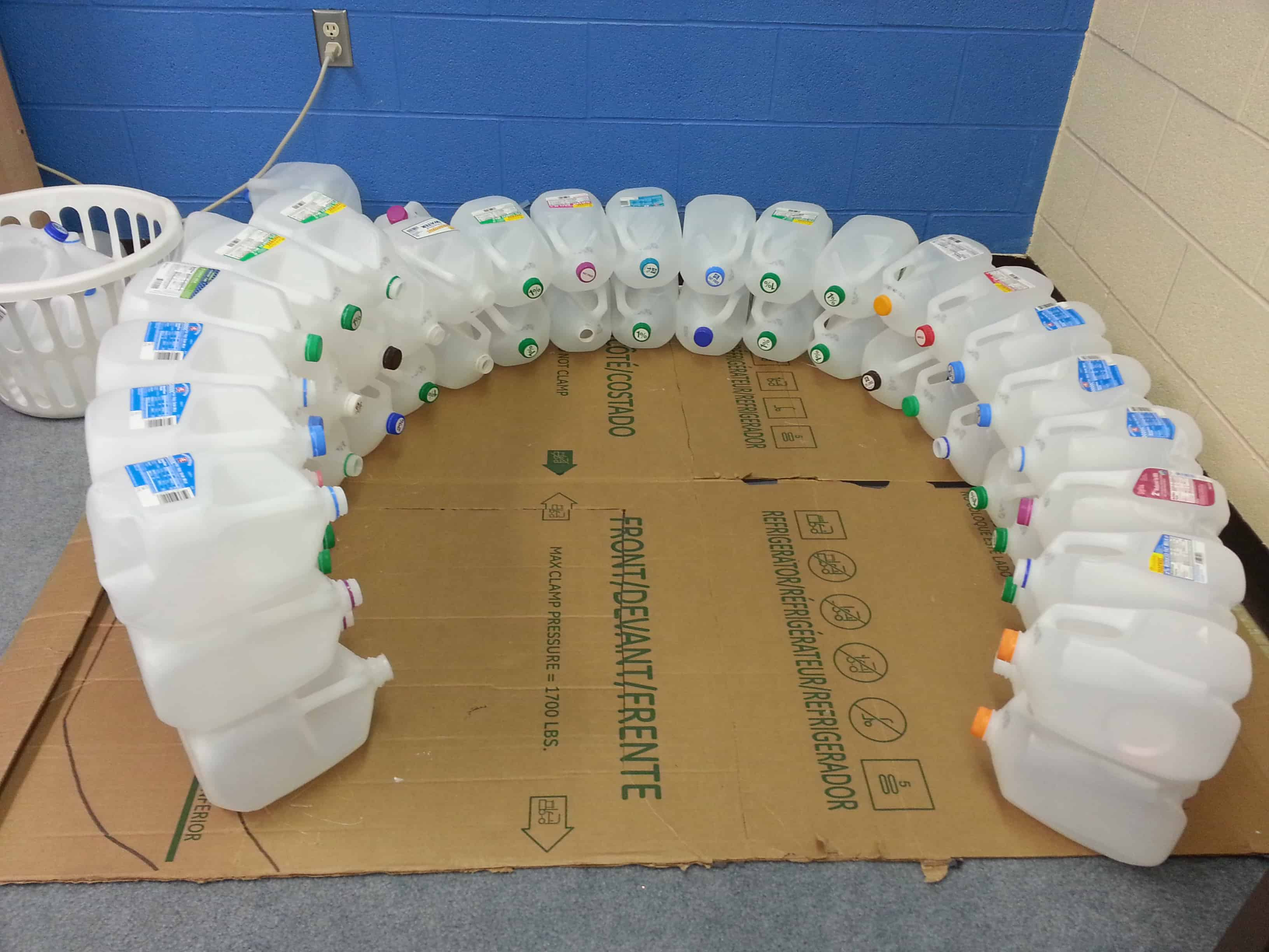 Igloo Made Out Of Gallon Jugs Pictures