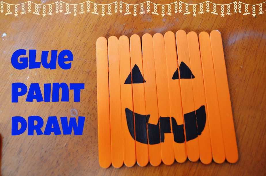 Halloween Decor Kid S Popsicle Stick Crafts