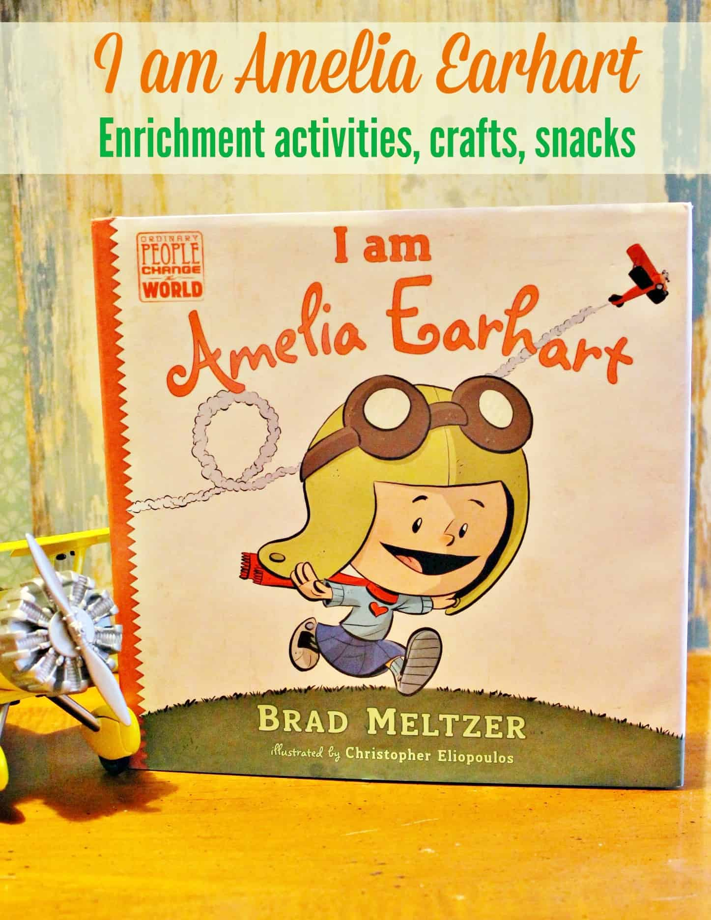 I Am Amelia Earhart By Brad Meltzer Unit Study