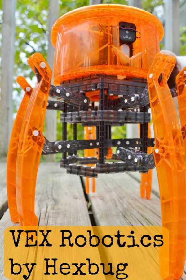Vex Robotics Hexbug - Diy Rc Spider Robot