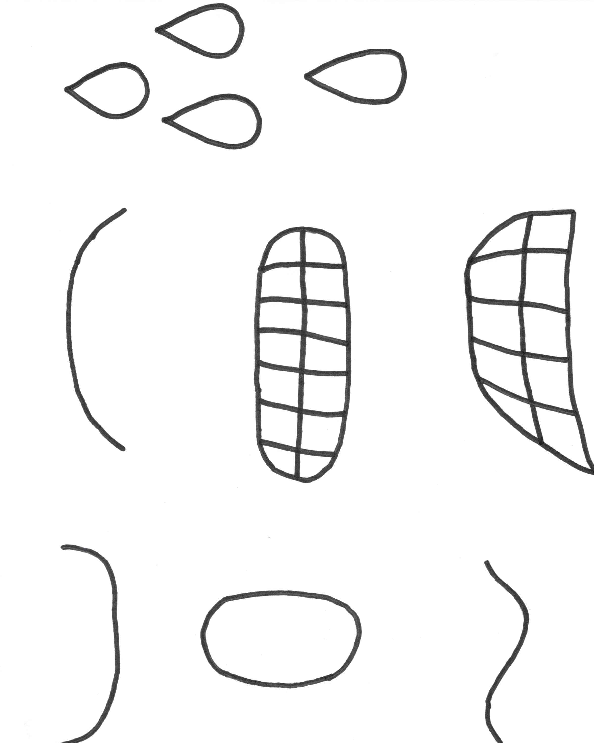 Free Printable Emotion Faces That Are Inventive