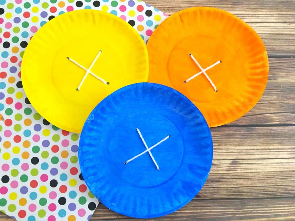 Pete The Cat Paper Plate Preschool Craft Four Groovy Buttons