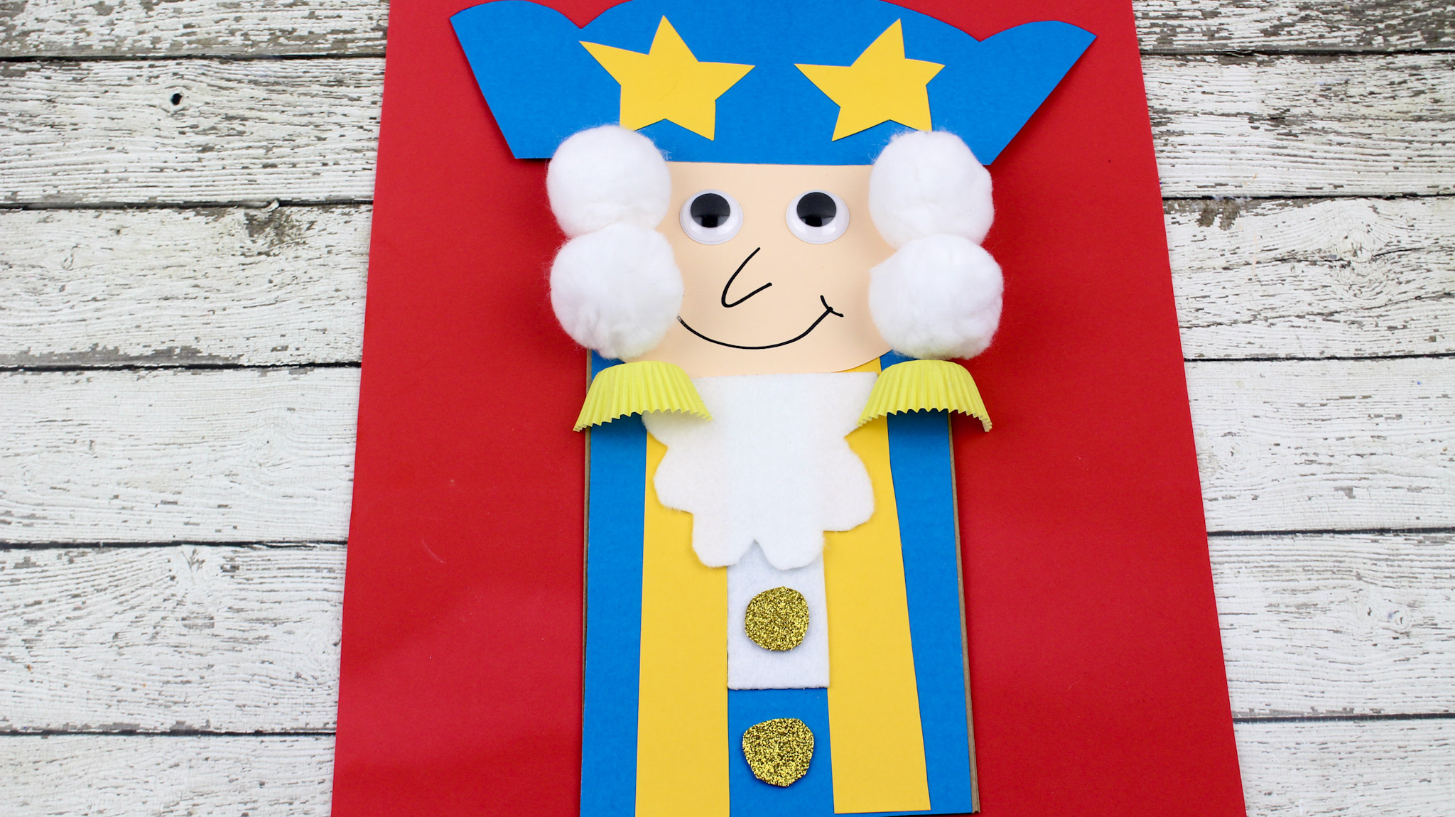 President S Day George Washington Paper Bag Kid S Craft