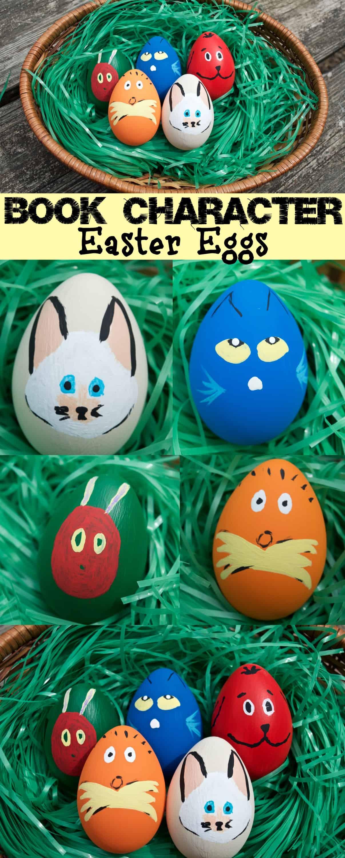 Cute Children S Book Character Easter Egg Decor