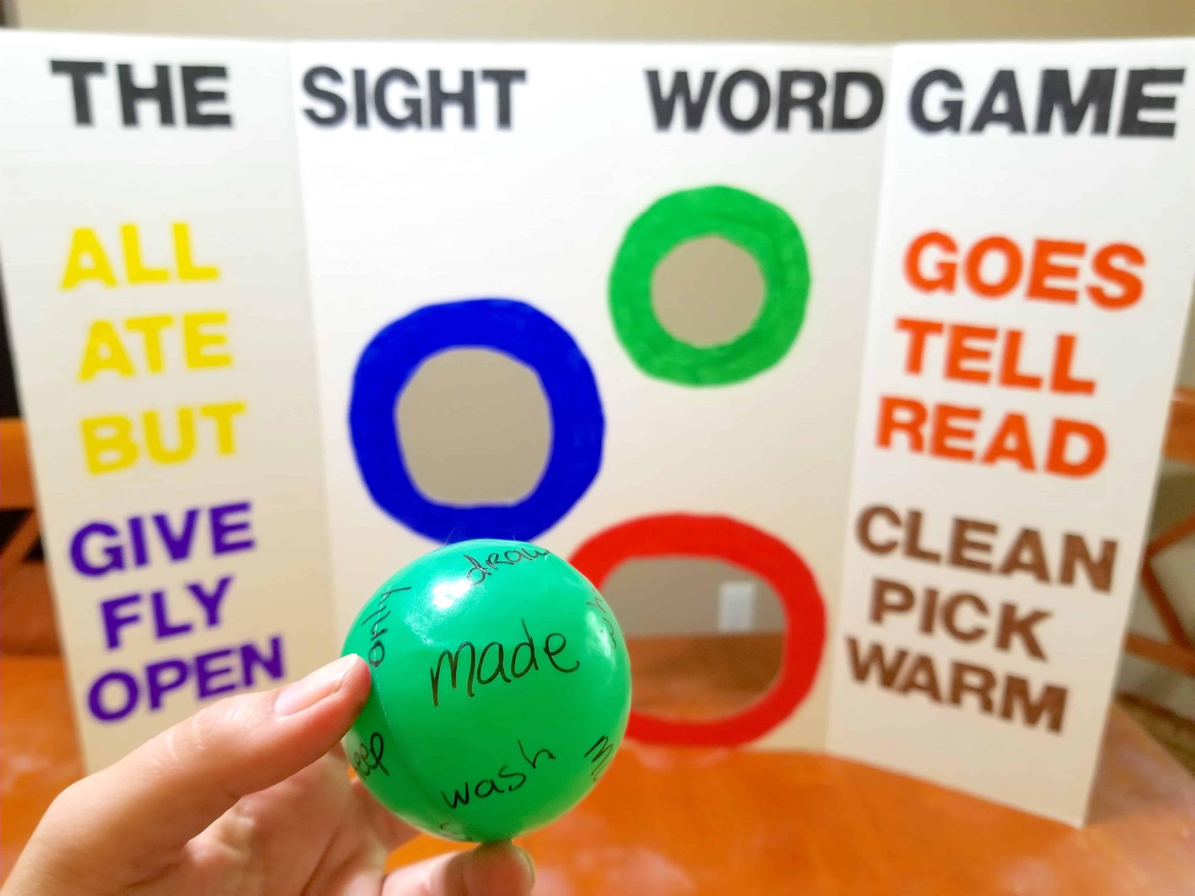 3 Sensory Sight Words Amp Blends Activities