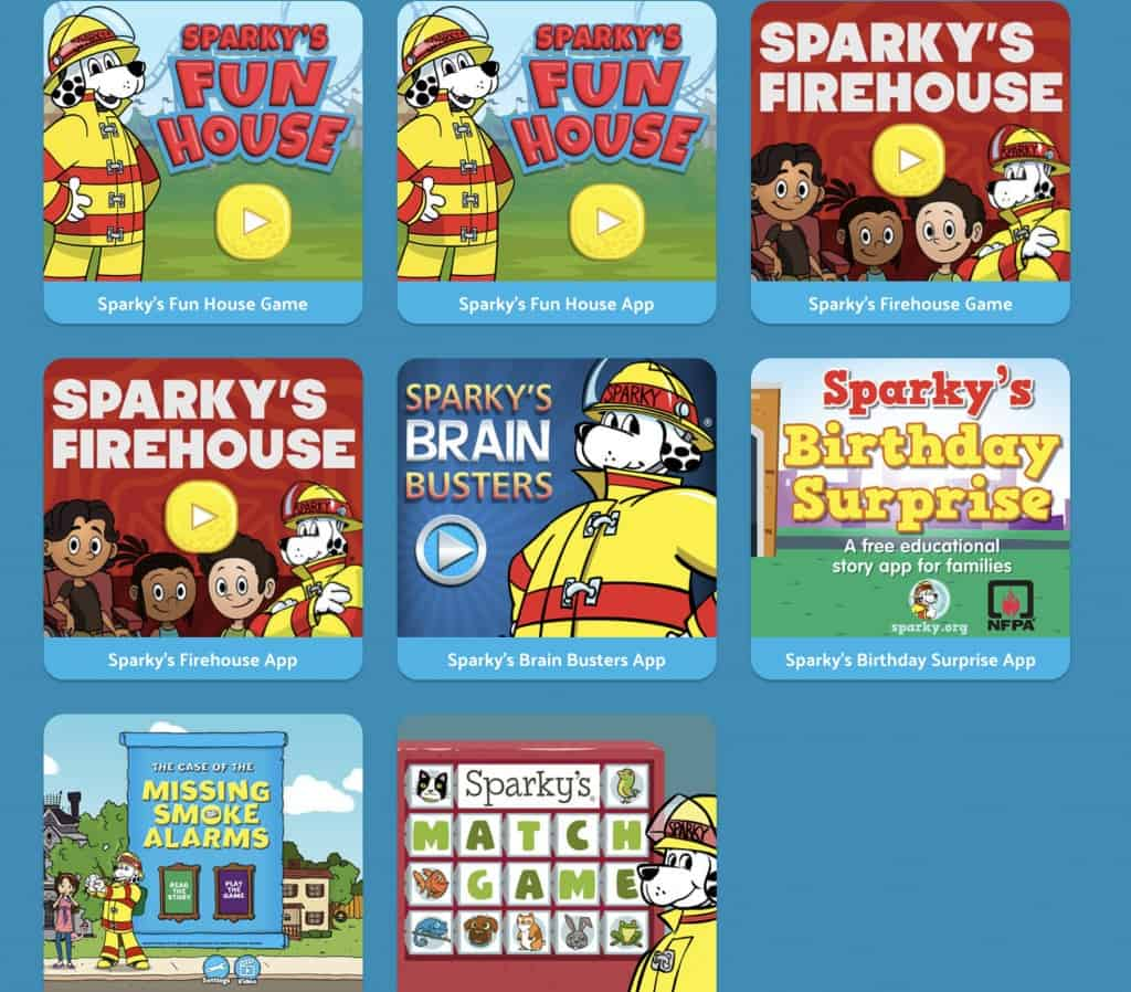 No Mess Fire Safety Activity For Kids Sparky S Fire