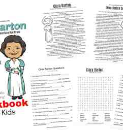 All About Clara Barton Printable Worksheets \u0026 Activities for Kids [ 1200 x 1800 Pixel ]