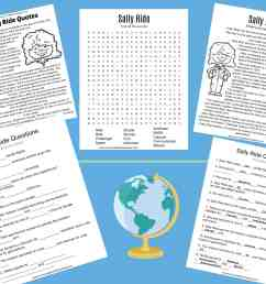All About Sally Ride Worksheets \u0026 Activities for Kids [ 2550 x 3300 Pixel ]