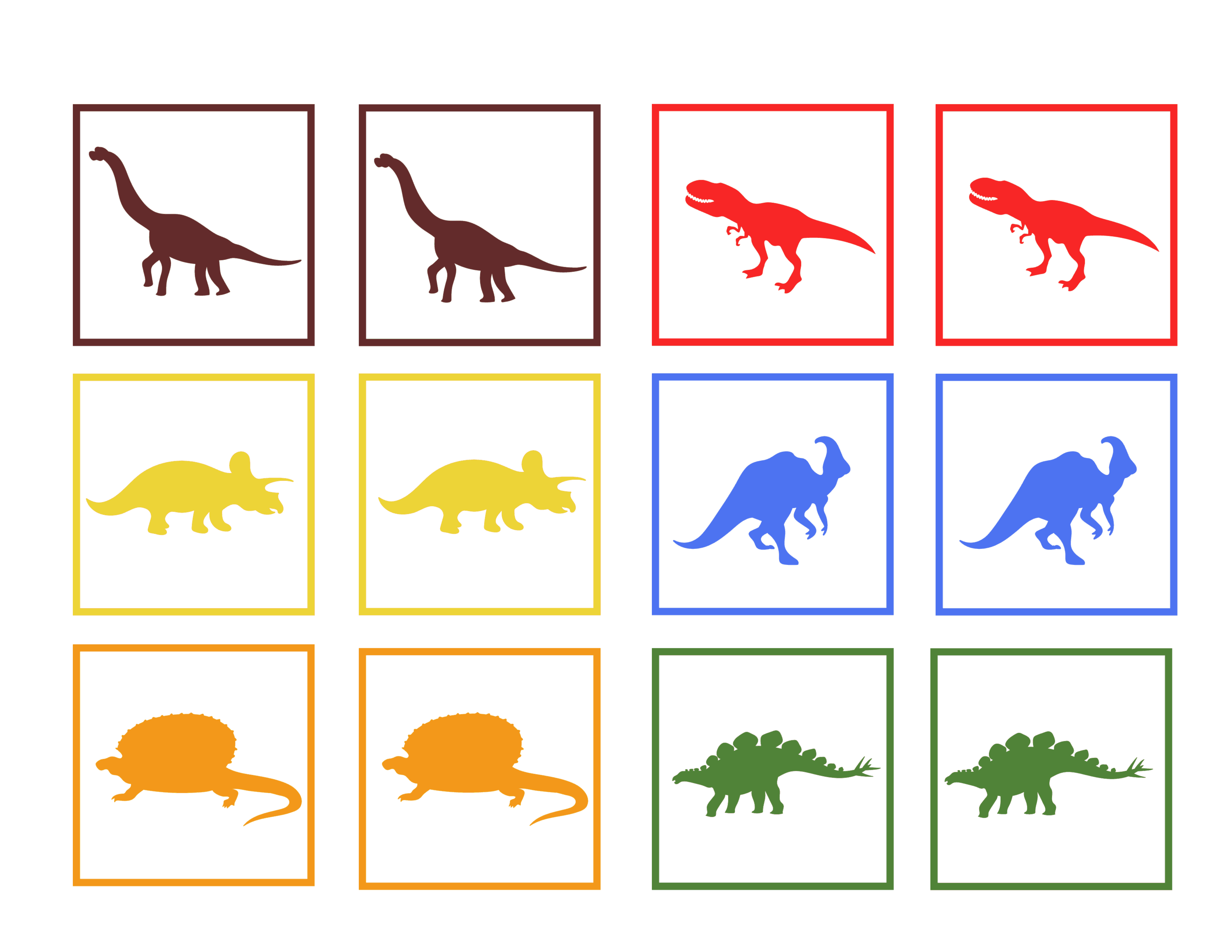 Learning Colors And Numbers In Preschool Dinosaur Worksheets