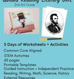 Abraham Lincoln Worksheets 5th Grade   Printable Worksheets and Activities  for Teachers [ 1653 x 1240 Pixel ]