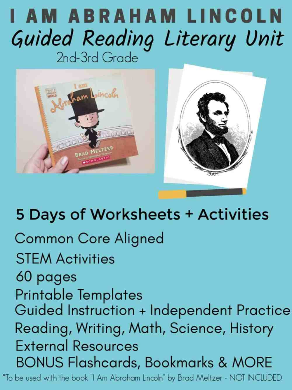 medium resolution of Abraham Lincoln Worksheets 5th Grade   Printable Worksheets and Activities  for Teachers