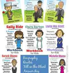 11 Famous People in History Workbook - Presidents [ 2104 x 1588 Pixel ]