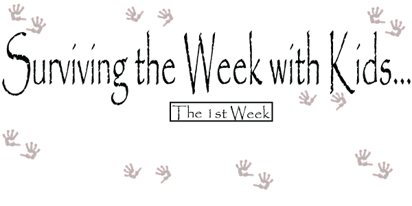 Surviving the week with kids