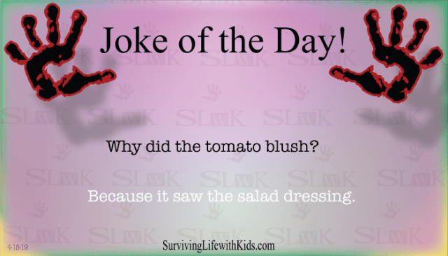 Daily Joke: Why Did The Tomato Blush?
