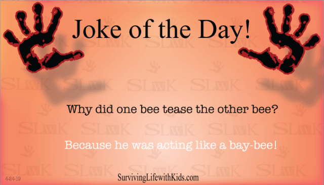 Daily Joke: Why Did One Bee Tease The Other Bee?