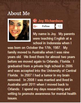 joy-1-236x300 Let's Talk About Trauma - Guest Post by Joy Richardson