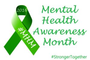 being a survivor is not gender specific, mental health awareness month