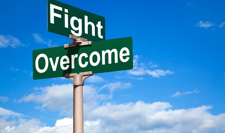 when life doesn't cooperate, we have to overcome
