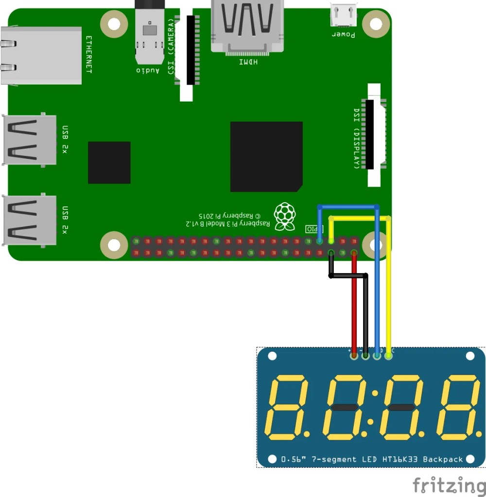 medium resolution of how to connect tm1637 to android things
