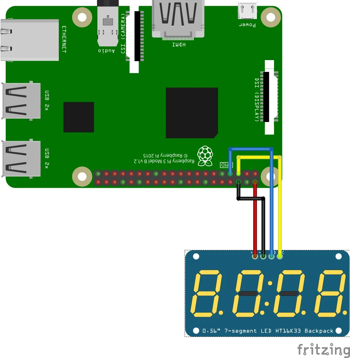 hight resolution of how to connect tm1637 to android things