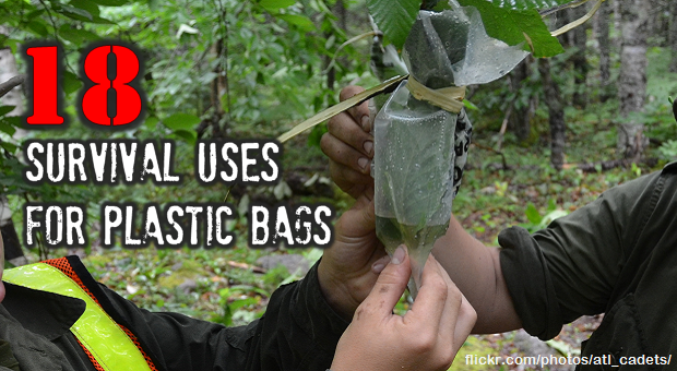 survival uses for plastic bags