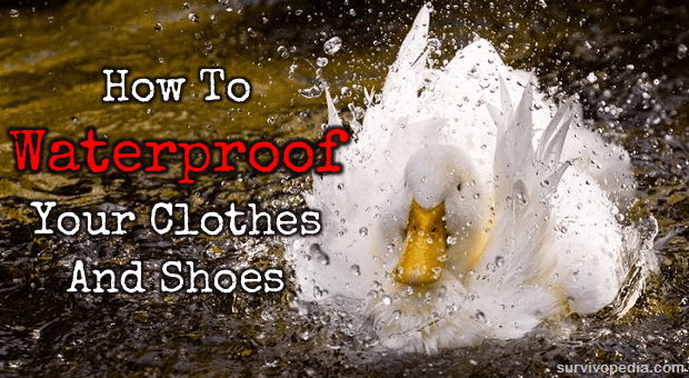Waterproof duck feathers