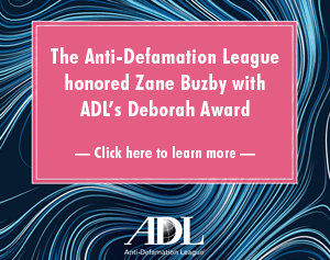 ADL Honors Zane Buzby
