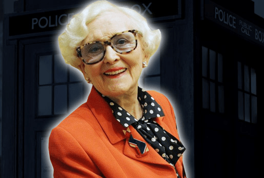 June Hudson - appearing at Doctor Who Cares