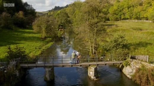 Mortimer & Whitehouse: Gone Fishing - the bridge close to Netherdale Farm