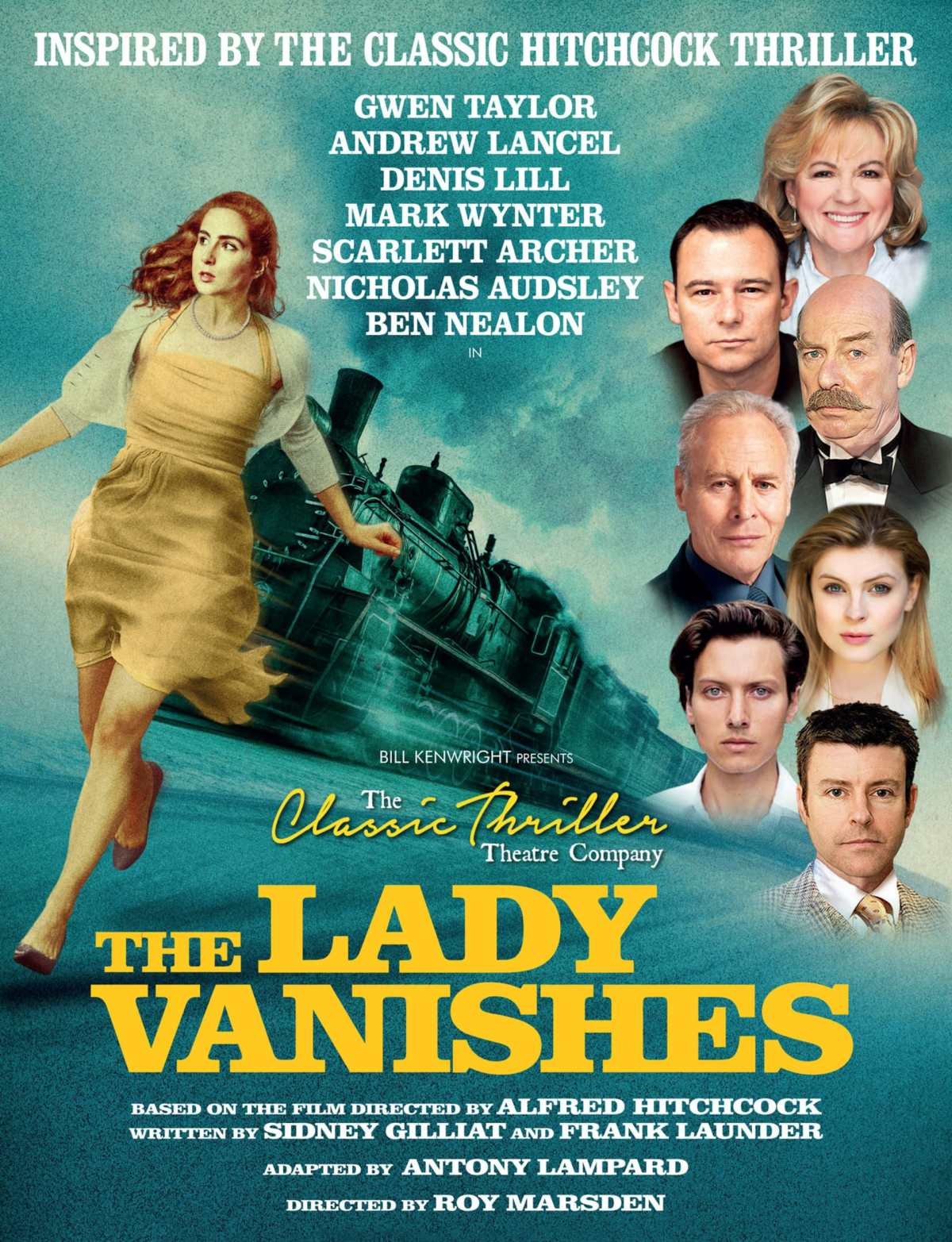 Denis Lill on tour in The Lady Vanishes