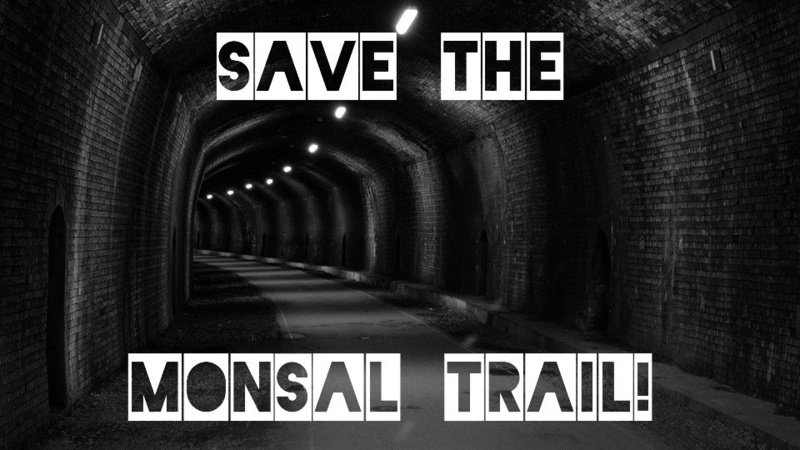 Save the Monsal Trail petition banner