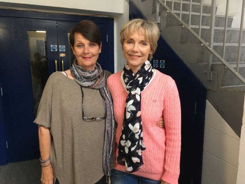 Carolyn Seymour and Lucy Fleming - Big Finish - New Dawn
