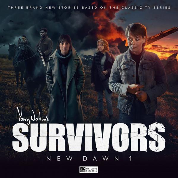 Big Finish - Survivors - New Dawn 1 cover