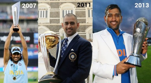 On This Day: Dhoni becomes first captain to win all ICC trophies