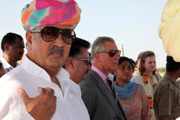 बेलायतका राजकुमार चाल्र्स भारतमा